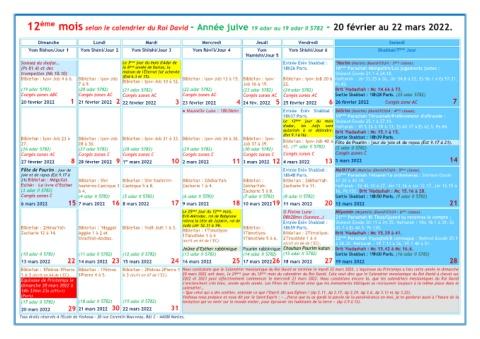 Calendrier Juif 2022 Page 39   Calendrier Juif Messianique
