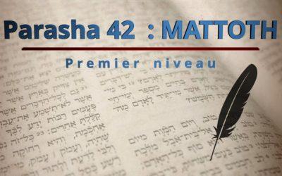 Parasha 42 : MATTOTH (Tribus) – Premier niveau